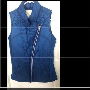 LuluLemon Alberta Lake Blue down vest